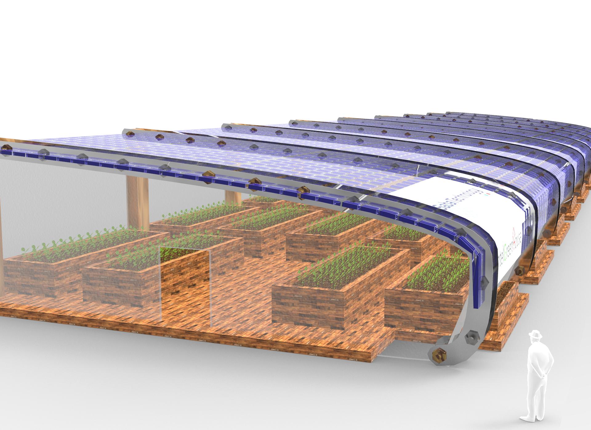 Intel Green House - Saba Technology - Water From Moisture