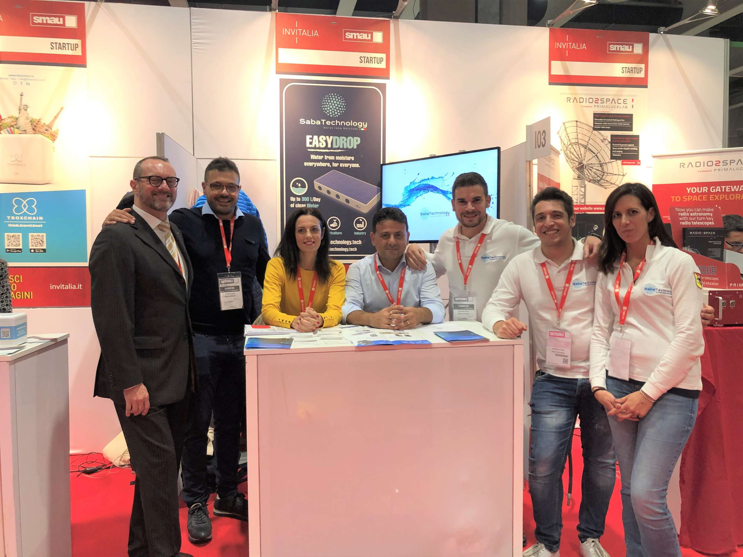 Smau Milano 2019 - Saba Technology